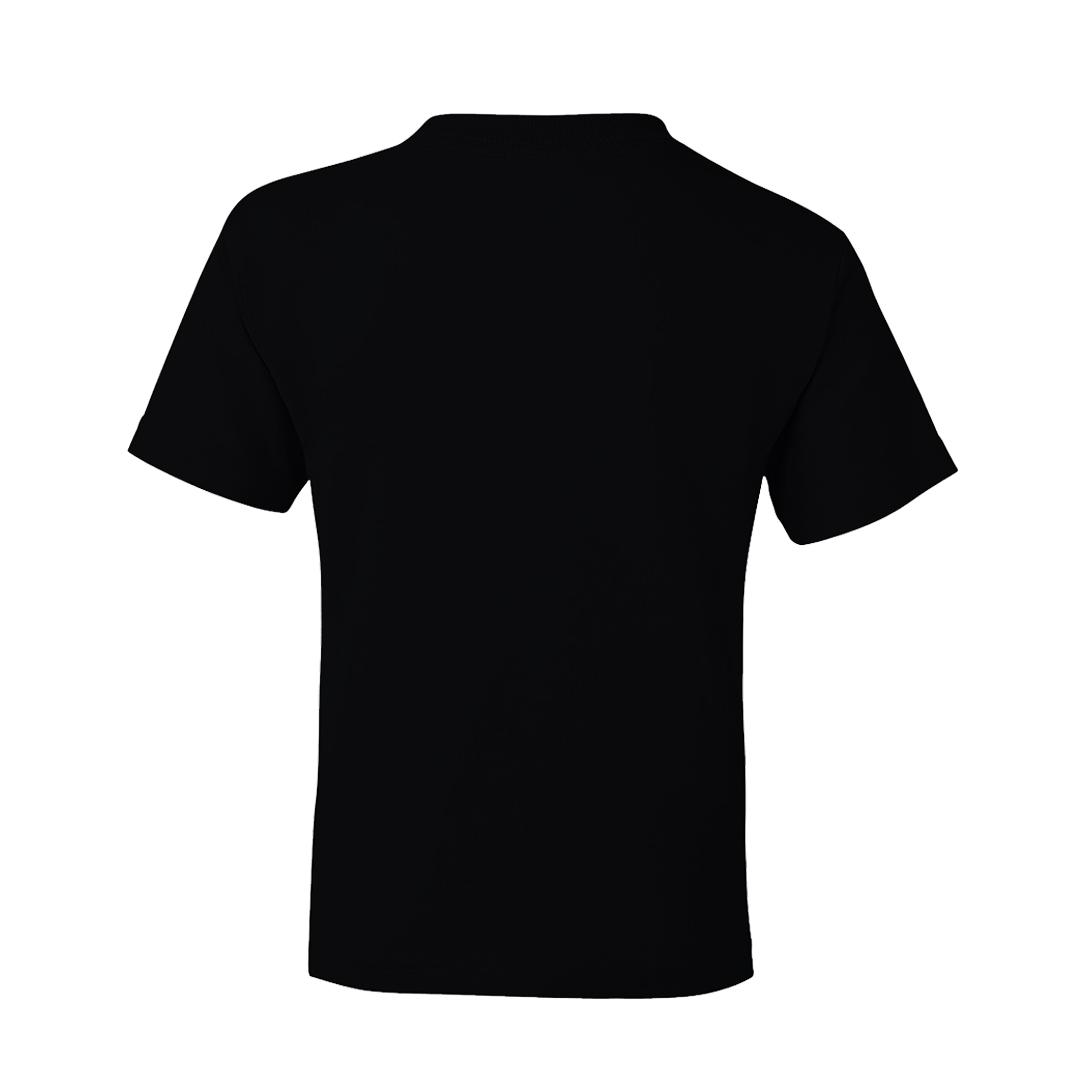Kids T Shirt Black Back