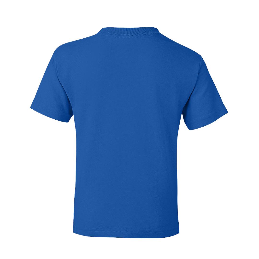 Kids T Shirt Royal Blue Back