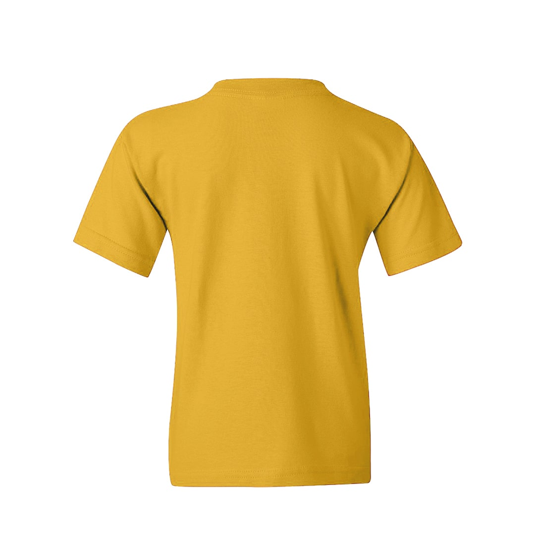 Kids T Shirt Yellow Back