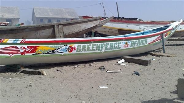 Pirogue volontaire Ibrahim Mar Sénégal