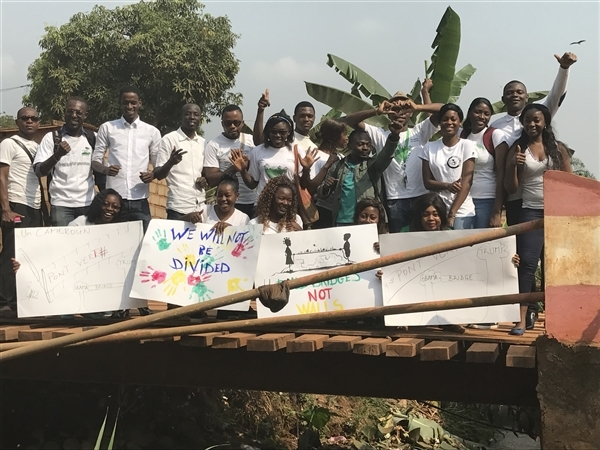 bridges not walls Cameroon