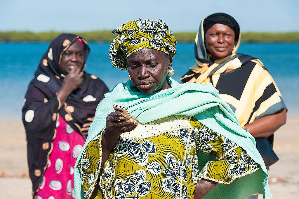 President of Women Association in Senegal. © Clément  Tardif
