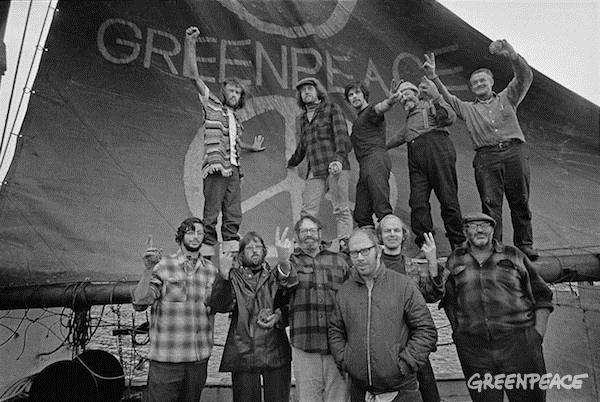 fondateurs greenpeaceh