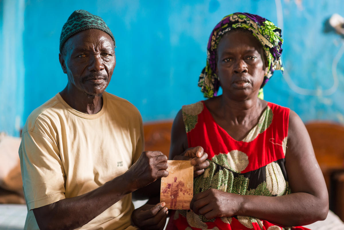 Souleymane Faye and Siga Gueye, Parents of Lost Fisherman, in Senegal. © Clément  Tardif