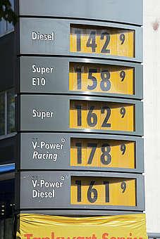 Shell Petrol Station in Hamburg. © Axel Kirchhof