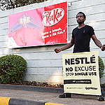 Nestlé swaps throwaway plastic for throwaway paper on snack bars