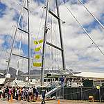 Arctic Sunrise set to liven up the ocean around Cape Town. 19, 20 October – V&A Waterfront