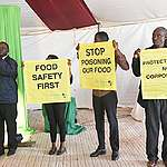 World Food Day 2019:  Activists Deliver a Statement to Prof Boga Demanding A Ban on Harmful Chemicals in Kenya's Food