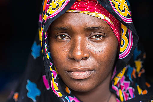 Kine Niang, Wife of Lost Fisherman, in Senegal. © Clément  Tardif / Greenpeace