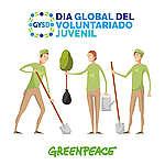 Festejá con Greenpeace el Día Global del Voluntariado Juvenil