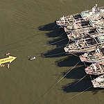 Greenpeace en Montevideo, contra los pesqueros destructores del Atlántico Sur