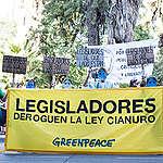 """Greenpeace: """"Es un logro histórico de los mendocinos"""""""