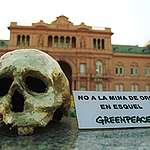 Greenpeace sobre la modificación de la ley que prohíbe sustancias químicas en la minería en Chubut