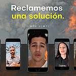Luciano Cáceres, Carolina Peleritti, Leo Montero y personalidades del mundo del espectáculo se sumaron a Greenpeace para visibilizar la situación de los bosques en el país.
