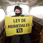 Sobrevolamos el Delta del Paraná y documentamos desde el aire la magnitud de los incendios.
