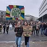 Jongeren op de barricade voor het klimaat