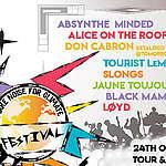 Muziekfestival na laatste klimaatmars voor de verkiezingen