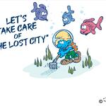 Bekende tekenaars brengen bedreigde onderwaterstad tot leven