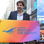 L'acteur oscarisé Javier Bardem appelle à la protection des océans