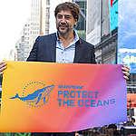 Javier Bardem samen met Greenpeace in de bres voor de bescherming van de oceanen