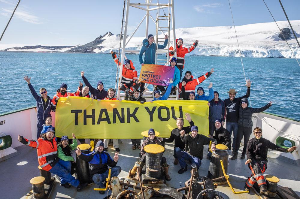 3 miljoen mensen eisen de bescherming van de oceanen!
