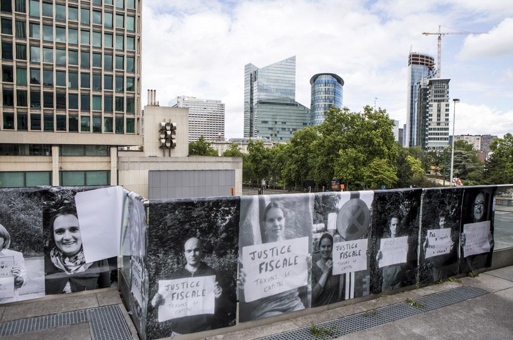 Des centaines de photos exposées à Bruxelles pour demander une société plus juste