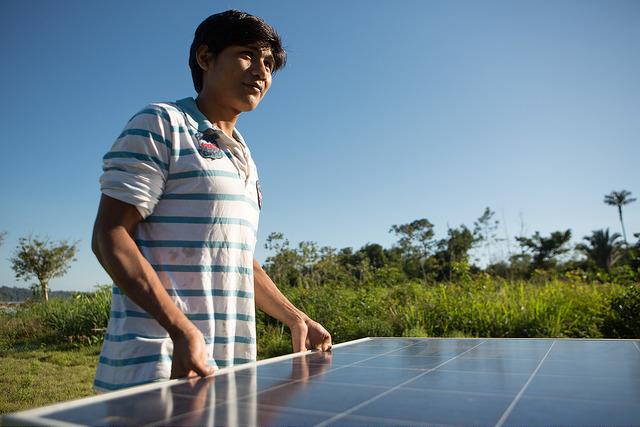 Energia solar para o povo Munduruku