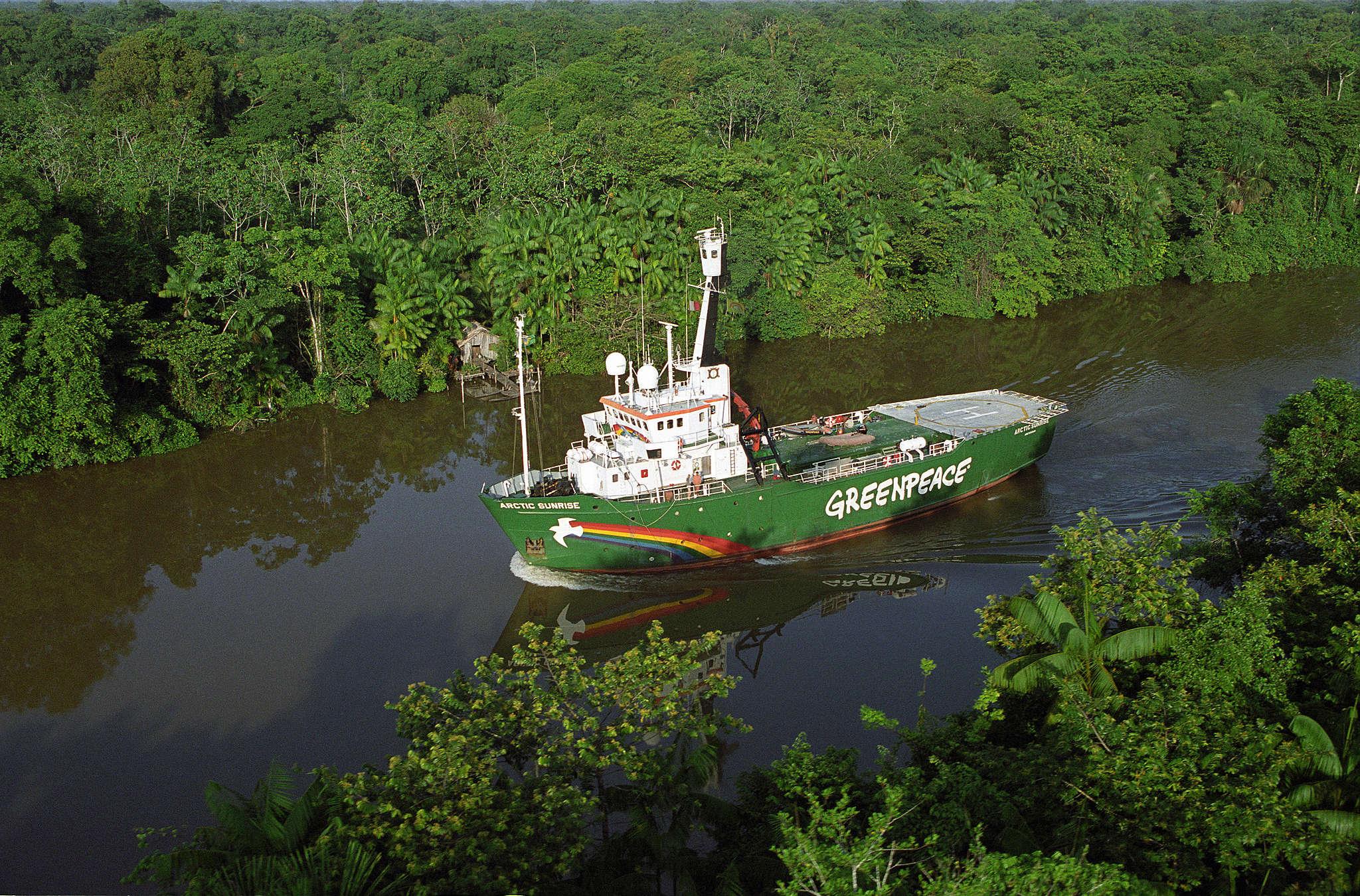 Expedição na Amazônia