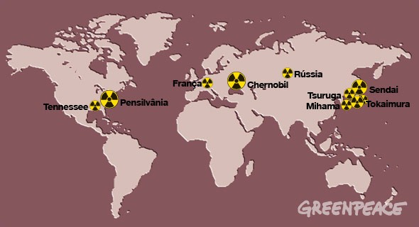 Piores catastrofes com usinas nucleares