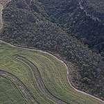 Vista aérea de Balsas, no Maranhão, na região conhecida como Matopiba