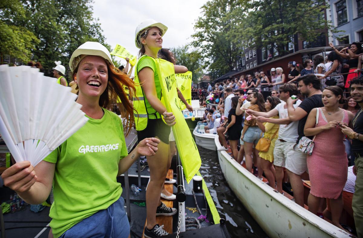 Amsterdam Pride 2018. © Marten  van Dijl
