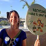 Uma compradora de plásticos convertida!
