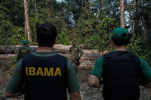 Vistoria em PMFS no Pará. © Marizilda Cruppe