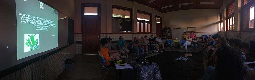 Cine-debate em Macapá