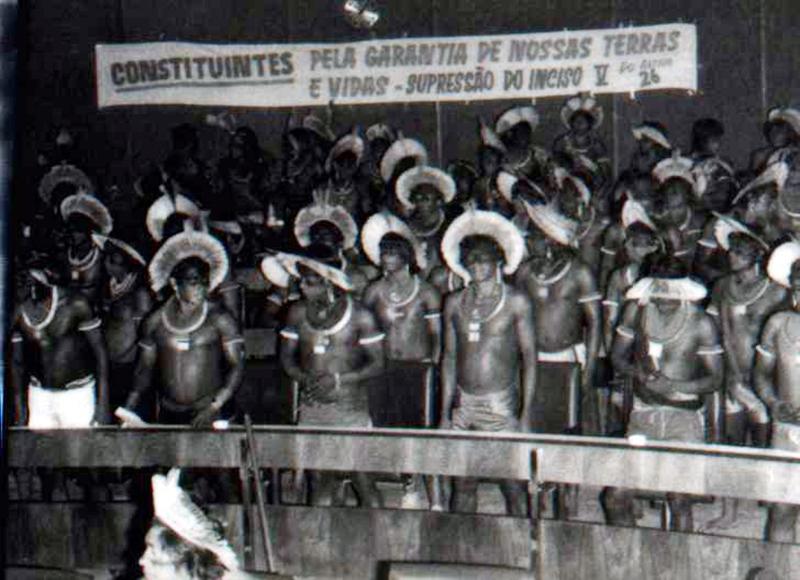 Povos indígenas participam da constituinte