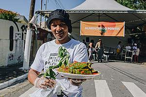 Comida orgânica e saborosa!
