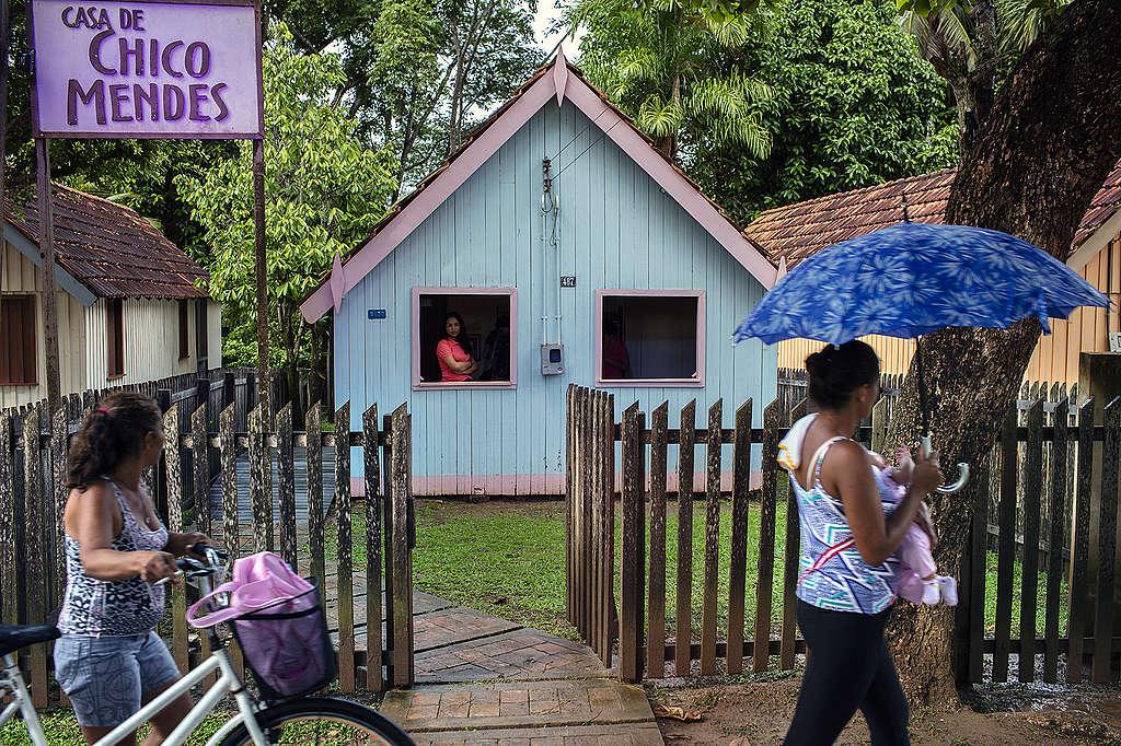 Casa de Chico Mendes em Xapuri