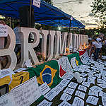 Vigil in Honour of Impacted Families from Brumadinho. © Christian Braga