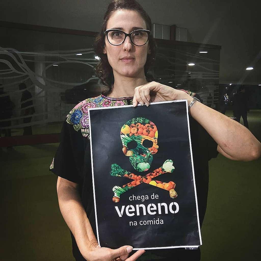 A chef de cozinha Paola Carosella é nossa aliada na luta contra os agrotóxicos