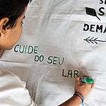 Voluntários realizam atividades e participam da Mobilização em Solidariedade aos Povos Indígenas