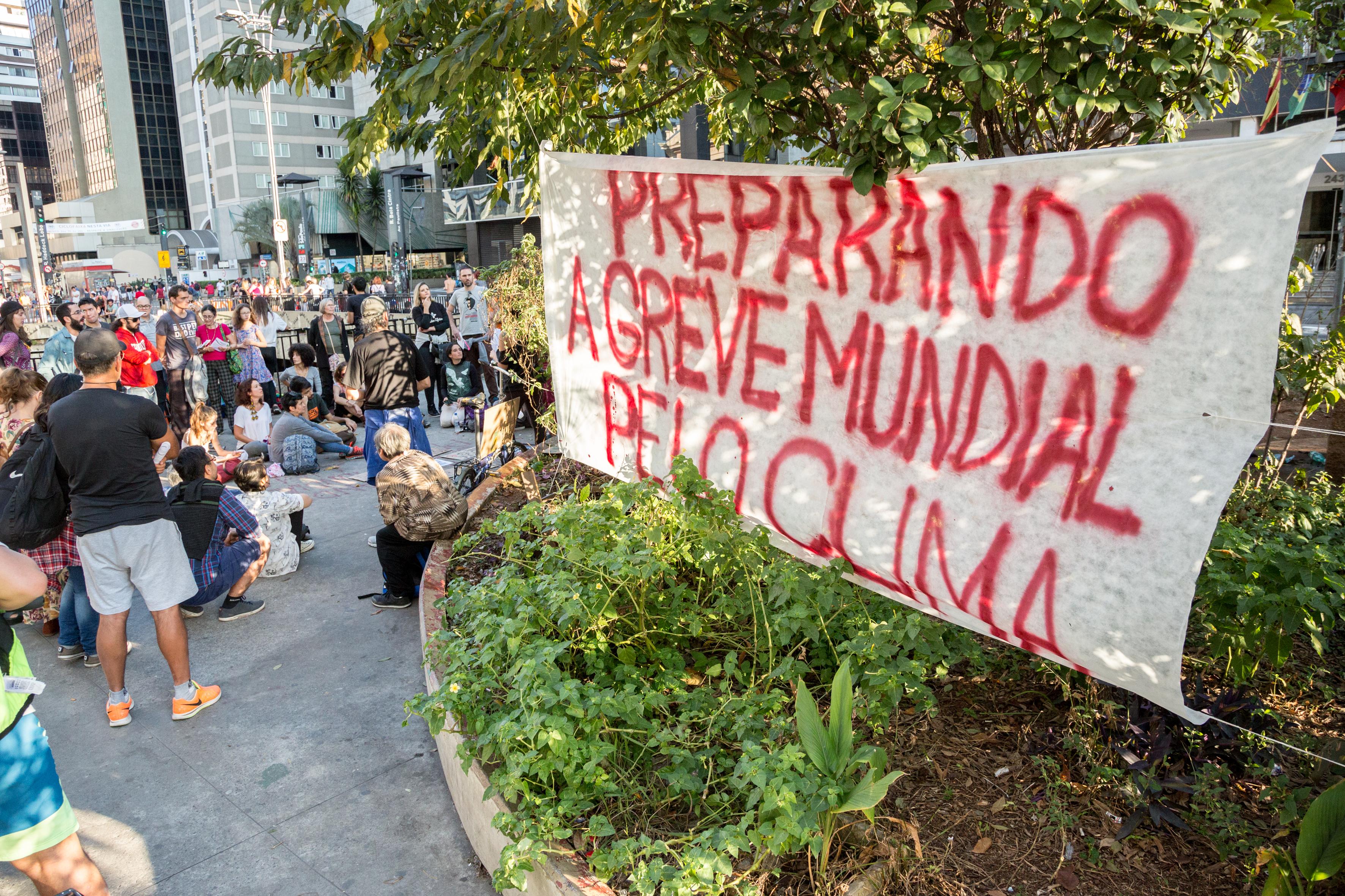 Reunião da Coalizão SP pelo Clima na Paulista Aberta