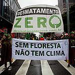 COP21: Climate March in São Paulo. © Zé Gabriel / Greenpeace