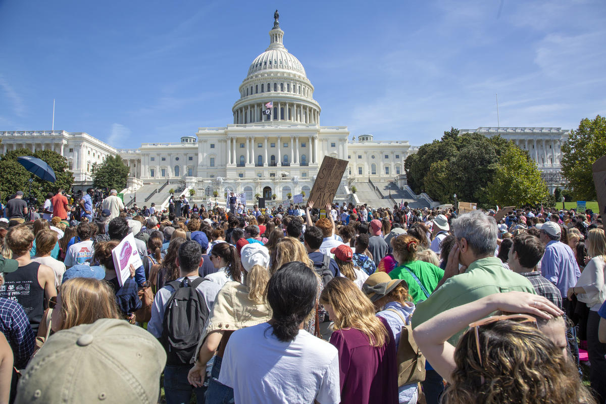 DC Youth-led Global Climate Strike. © Tim Aubry / Greenpeace