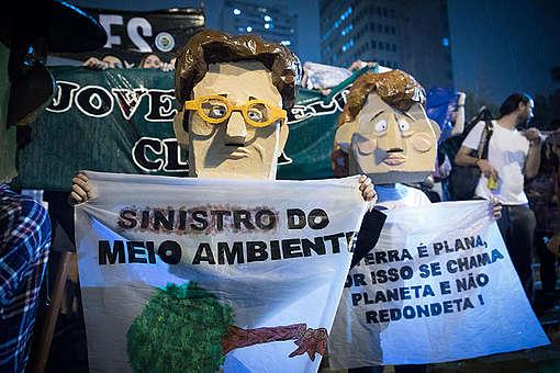 Global Climate Strike in São Paulo, Brazil. © Barbara Veiga / Greenpeace
