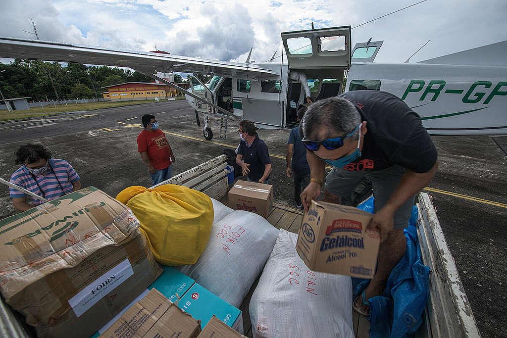 Projeto Asas da Emergência na Amazônia. © Marcos Amend / Greenpeace