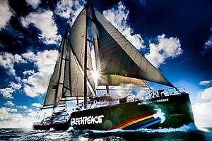 Rainbow Warrior в открито море