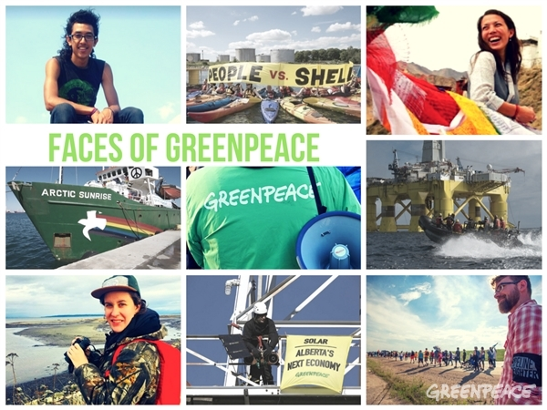 Faces of Greenpeace