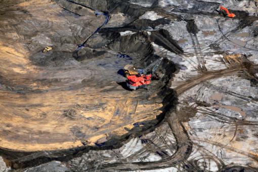 Syncrude Tar Sands Mine in Alberta