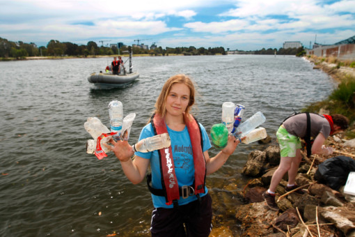 Cooks River Clean Up in Sydney