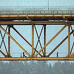 Oil Tanker Bridge Blockade In Vancouver